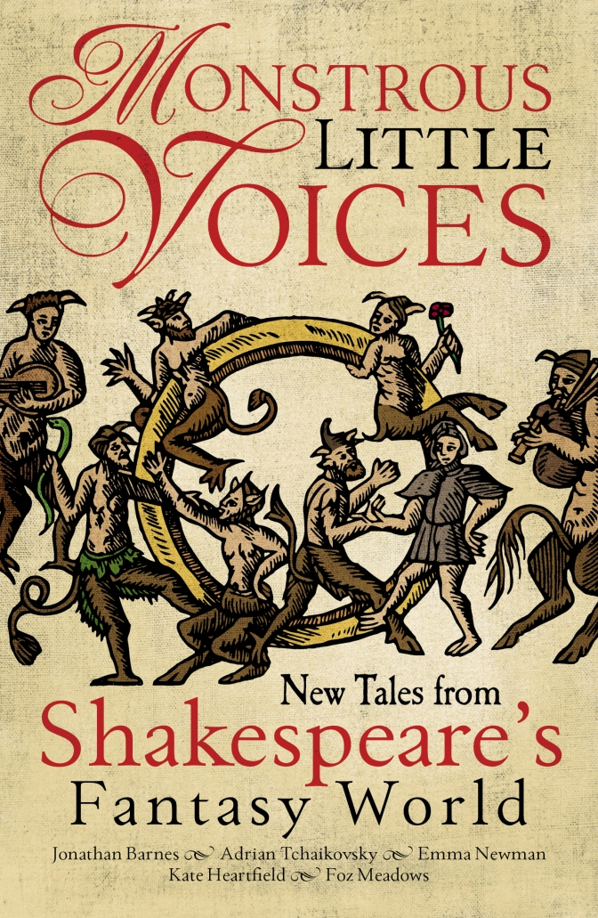 Abaddon commemorates the Bard with Monstrous Little Voices