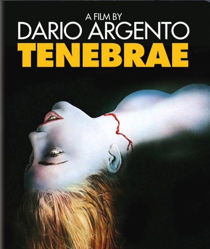 SYNAPSE FILMS ANNOUNCES THE SINGLE-DISC RELEASE OF TENEBRAE, DARIO ARGENTO'S GIALLO MASTERPIECE, ON BLU-RAY AND DVD SEPTEMBER 13th